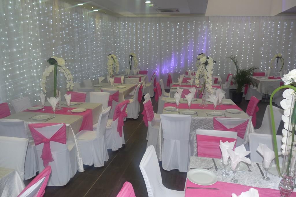Enova, Salle de reception